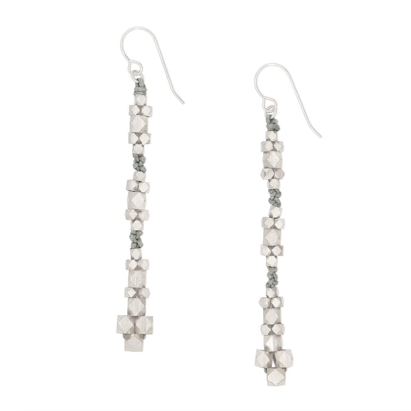 Ariadne Nugget Earrings • Gray