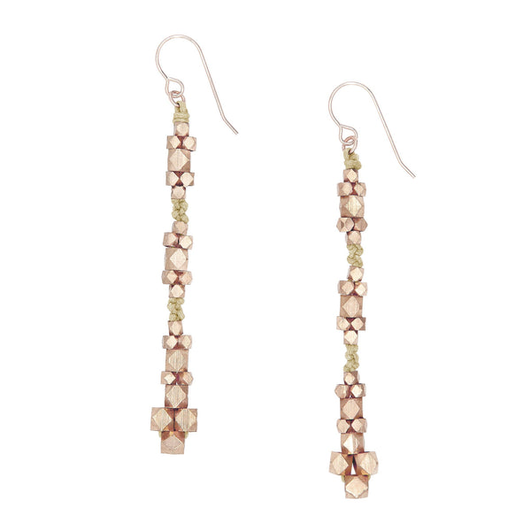 Ariadne Nugget Earrings • Natural