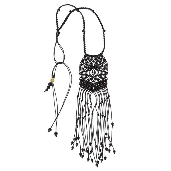 Bodicea Necklace • Black