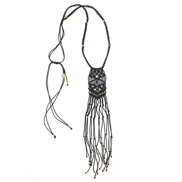 Kalliope Necklace • Black