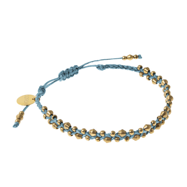 Stellina Luxe Friendship Bracelet • Blue