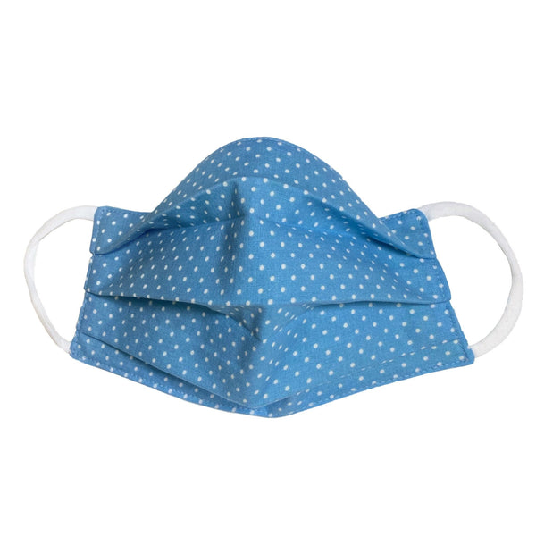Comfortable Face Mask - Blue Dot