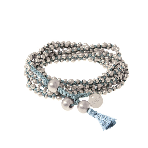 Stellina 3-in-one Wrap Bracelet/Necklace • Blue