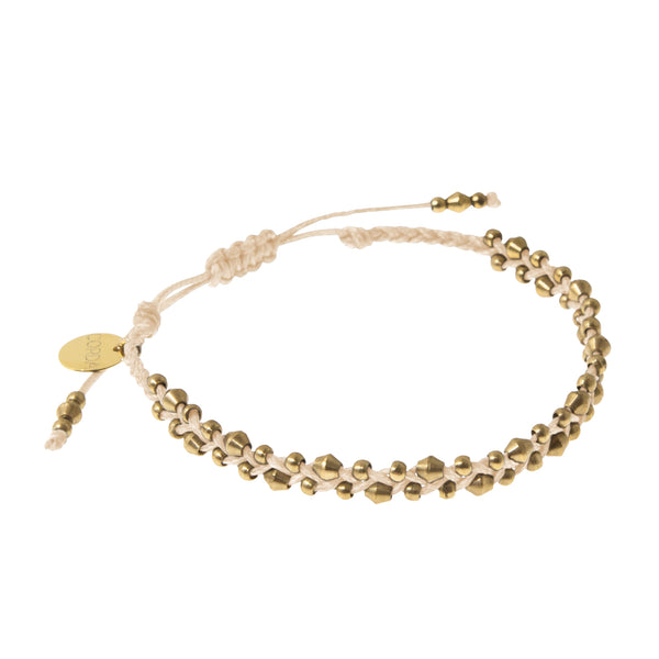Stellina Luxe Friendship Bracelet • Blush