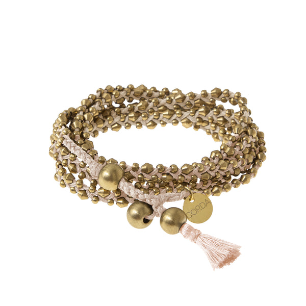 Stellina 3-in-one Wrap Bracelet/Necklace • Blush