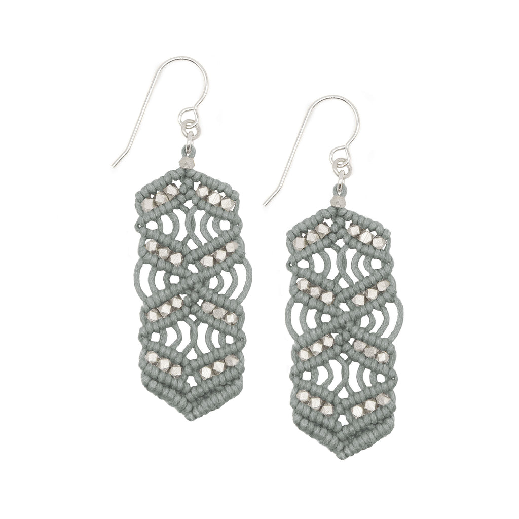 Caireen Earrings • Grey