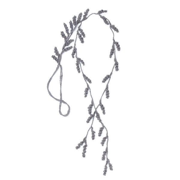 Tendril Lariat Necklace - Clay