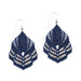 Hera Earrings - Navy