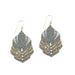 Hera Earrings - Grey