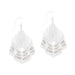 Hera Earrings - White