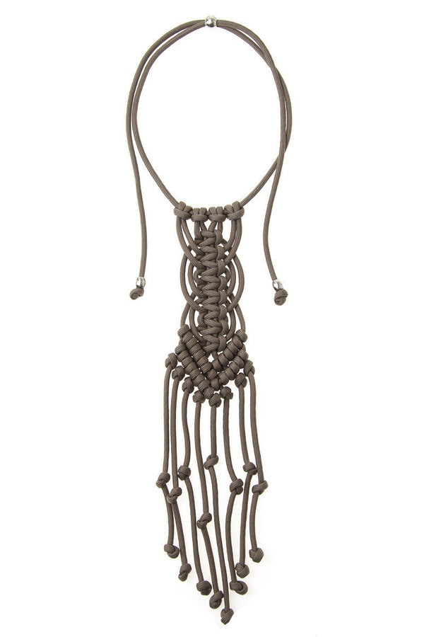 ParaCorda Muse Necklace • Taupe