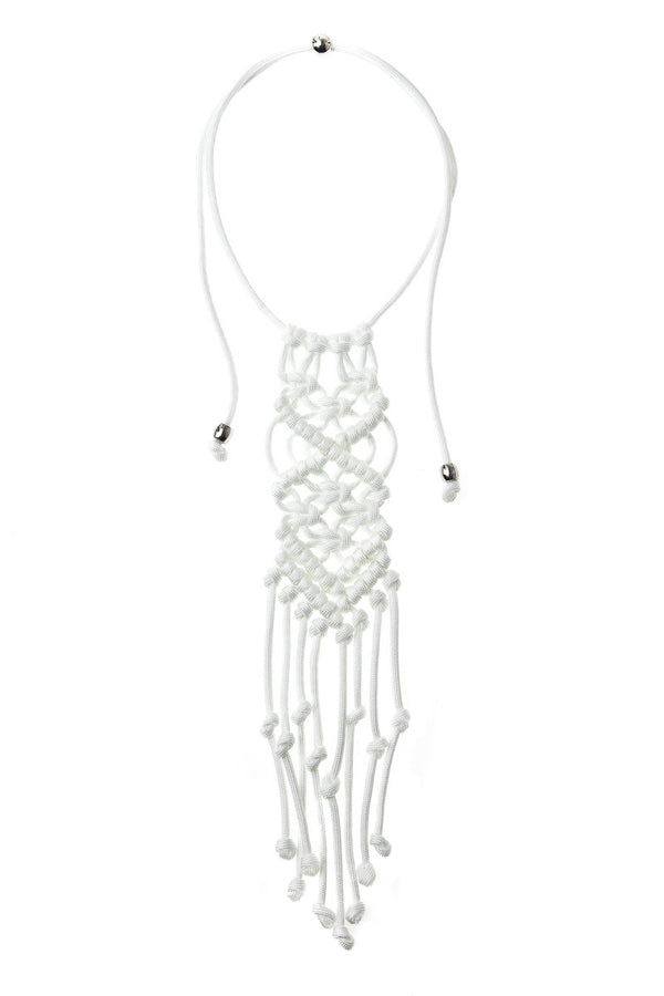 Paracorda Rock Star Necklace • White