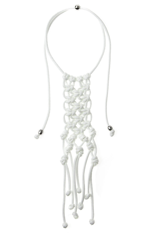 ParaCorda Karma Necklace • White