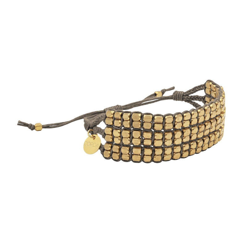 Tressa Knotted Statement Bracelet • Brass