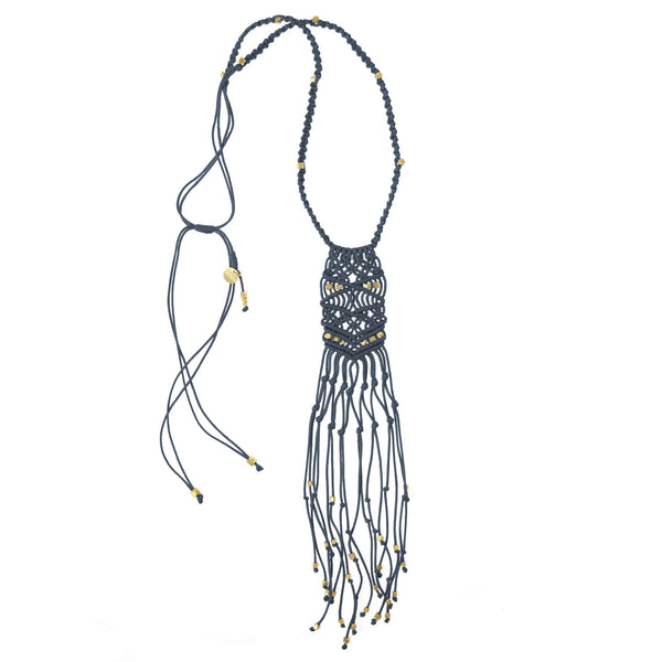 Kalliope Necklace • Denim
