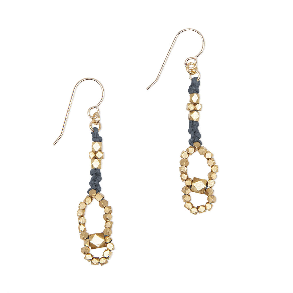 Eos Nugget Earrings • Denim
