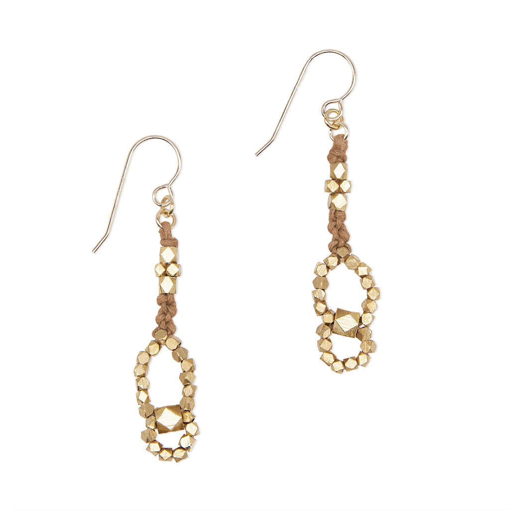 Eos Nugget Earrings • Sienna
