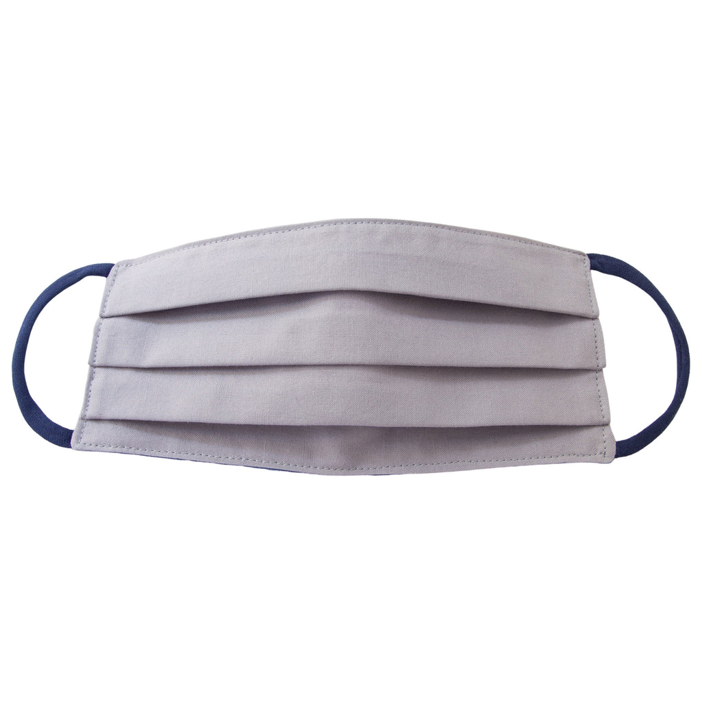 Comfortable Face Mask • Steel Gray/Dark Blue