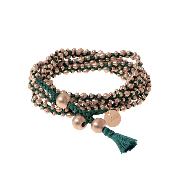 Stellina 3-in-one Wrap Bracelet/Necklace • Forest