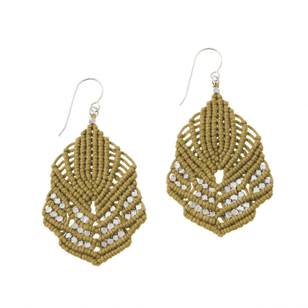 Hera Earrings - Ochre