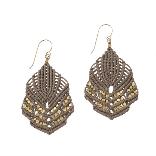 Hera Earrings - Stone