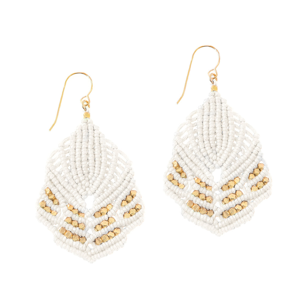 Hera Earrings - Ivory