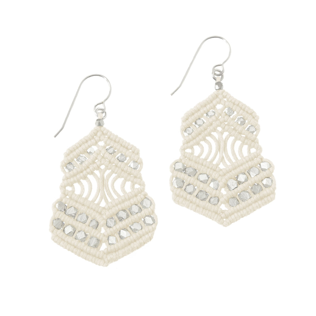 Kalliope Earrings - Ivory
