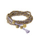 Stellina 3-in-one Wrap Bracelet/Necklace • Lavender