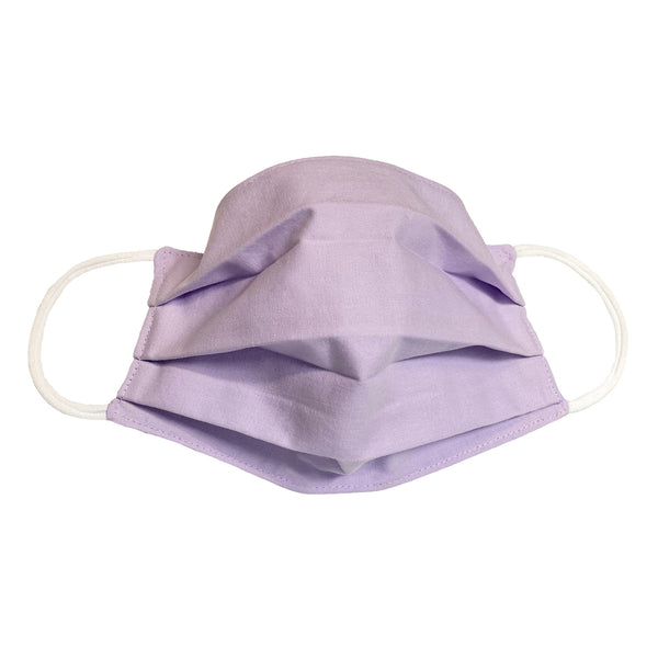 Lavender and Blue 2-Ply Cotton Face Mask by CORDA.