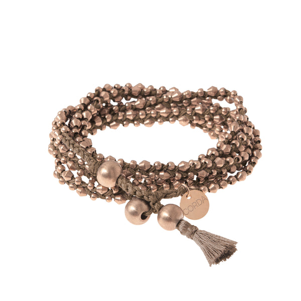 Stellina 3-in-one Wrap Bracelet/Necklace • Mink