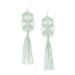 Gaia Tassel Earrings • Mint