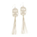 RhiannonTassel Earrings • Natural
