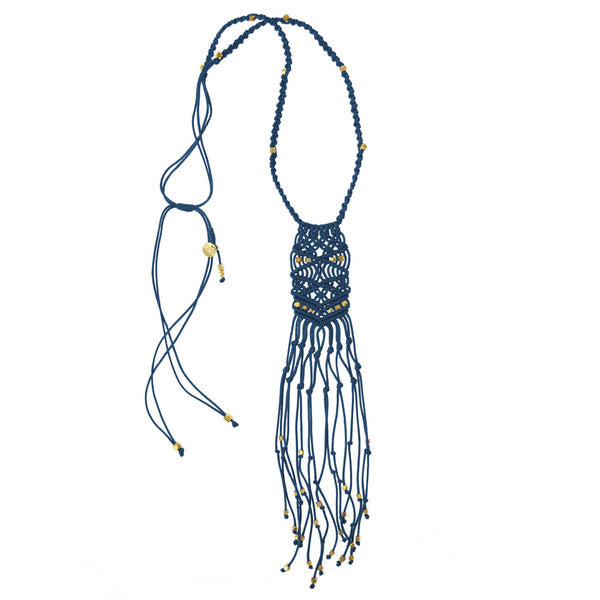 Kalliope Necklace • Navy