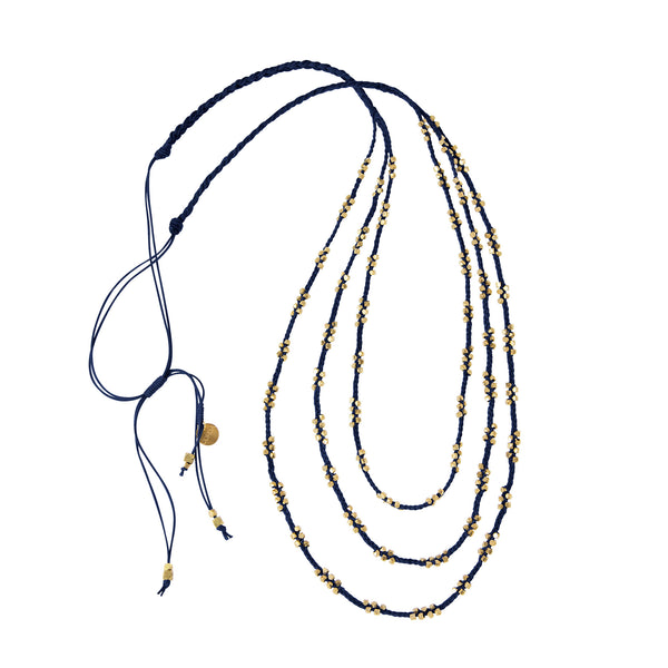 Stella Necklace • Navy