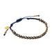 Stellina Single Braided Bracelet • Navy