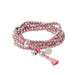 Stellina 3-in-one Wrap Bracelet/Necklace • Pink