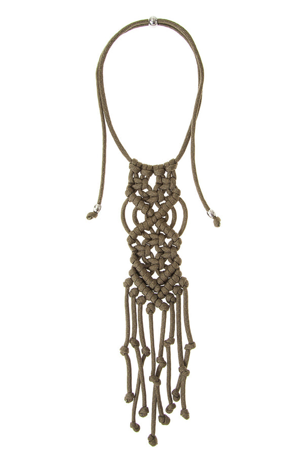 ParaCorda Rock Star Necklace • Khaki