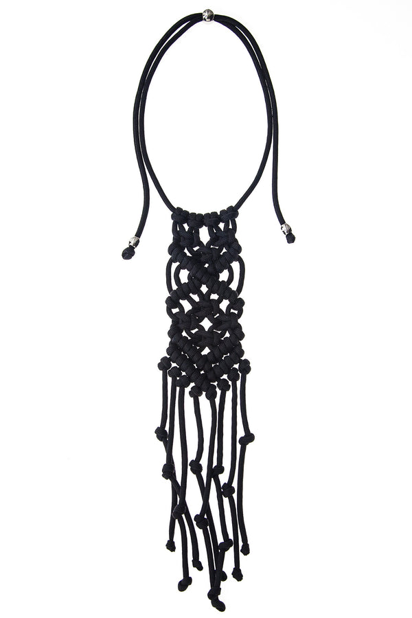 ParaCorda Rock Star Necklace • Black