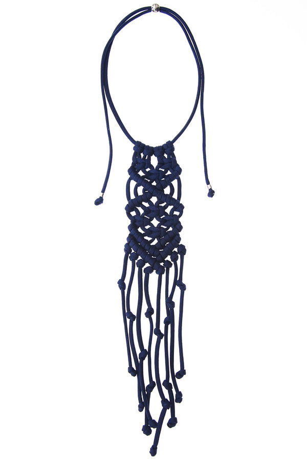 Paracorda Rock Star Necklace • Navy