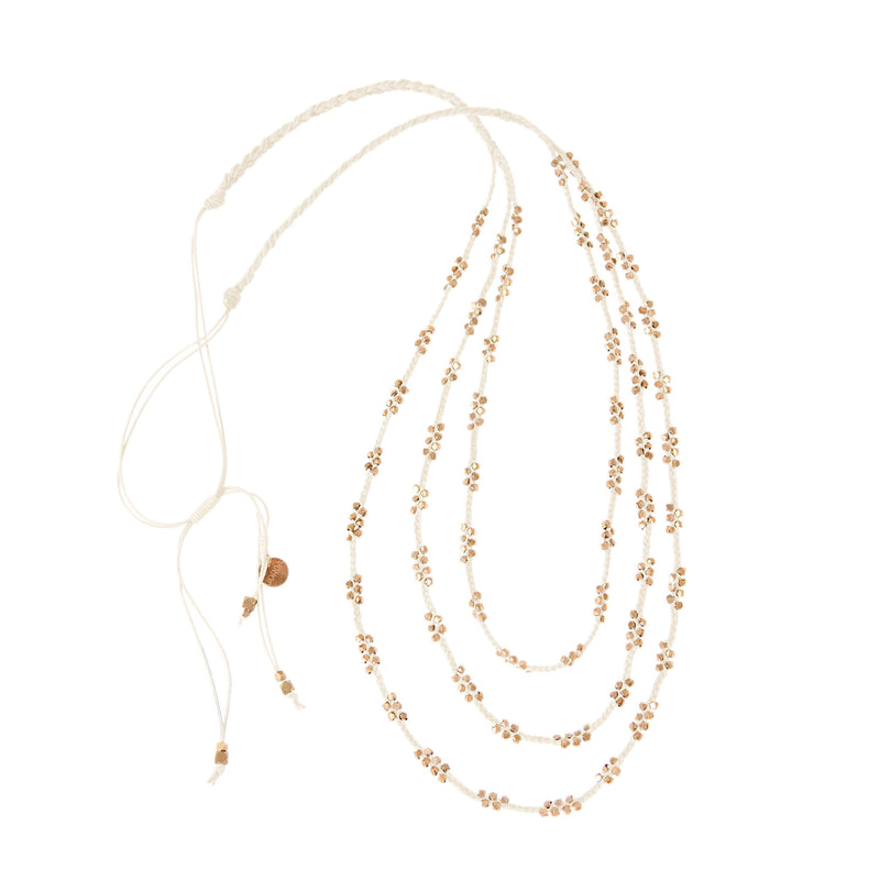 Stella Layered Necklace • Rose Gold