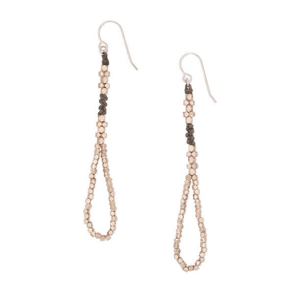 Thalia Nugget Earrings • Stone