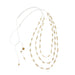 Stella Necklace • White