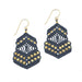 Kalliope Earrings - Denim