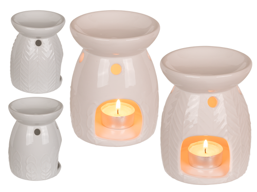 White Ceramic Wax Burner