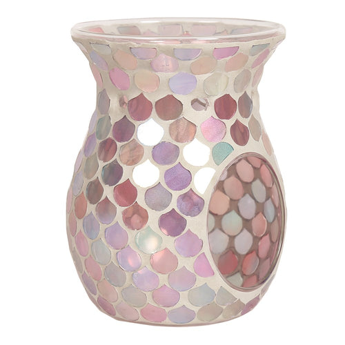Wax Melt Burner - Pink Droplet 14cm