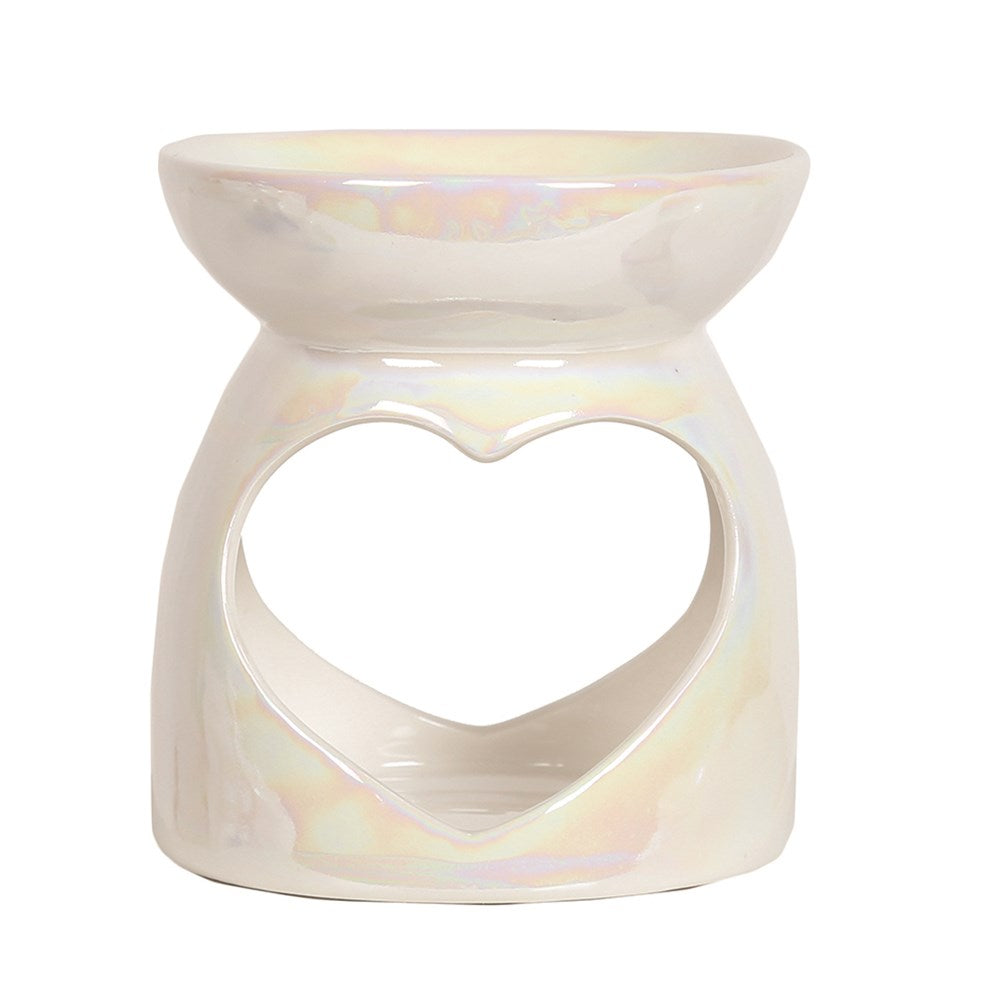Wax Melt Burner - Lustre Heart Burner