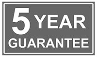 Azuma 5 year garden furniture guarantee.