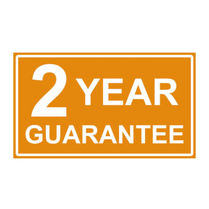 Azuma Outdoor 2 year guarantee.