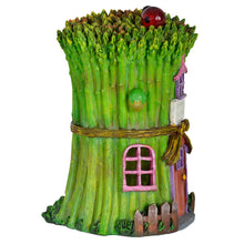 Load image into Gallery viewer, Azuma novelty asparagus school solar light side view.