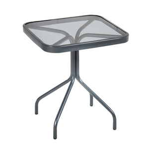 Azuma Cadiz 11 Piece Metal Garden Furniture Set Grey Parasol